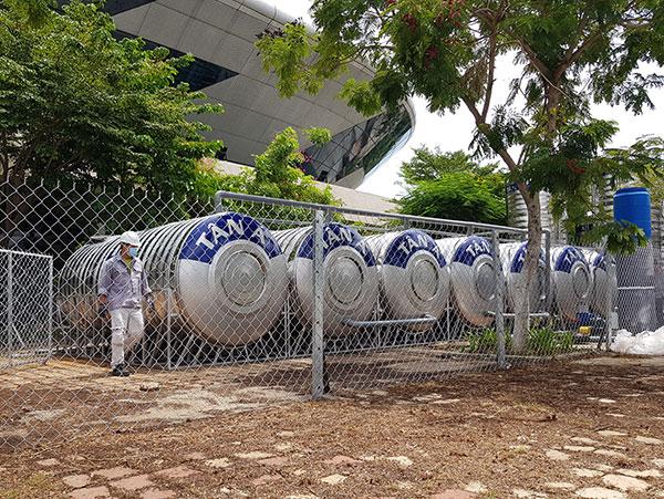 Công ty CP Môi trường Huy Hoàng Eco sẽ bố trí nhân lực vận hành hệ thống XLNT trong suốt thời gian BVDC Tiên Sơn hoạt động