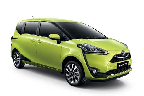 10. Toyota Sienta (doanh số: 5.344 chiếc).