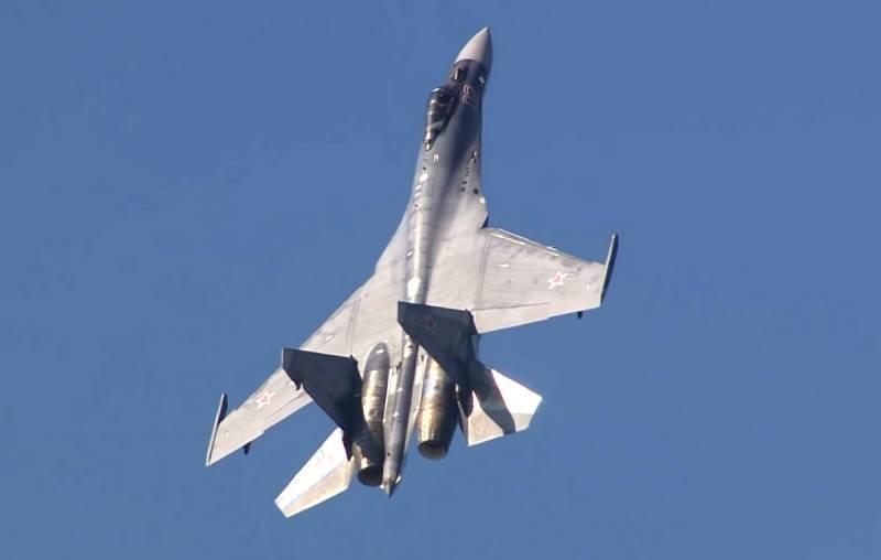 Tiêm kích Su-35 của Không quân Nga. Ảnh: TASS.