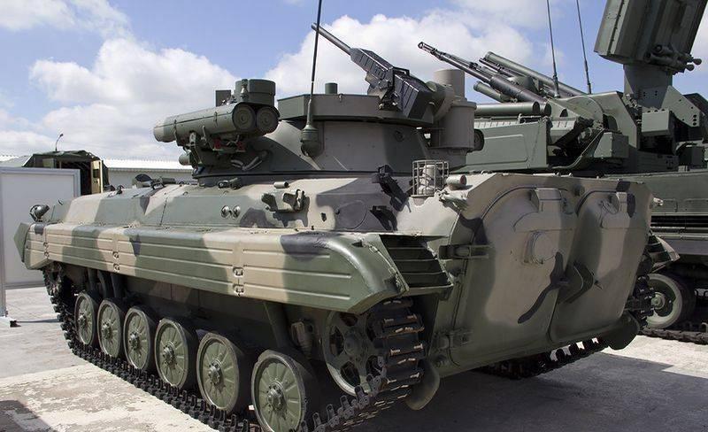 Xe chiến đấu bộ binh BMP-2M. Ảnh: Topwar.