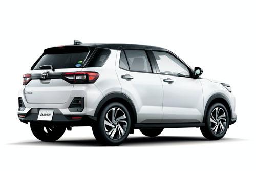 2. Toyota Raize (doanh số: 12.283 chiếc).