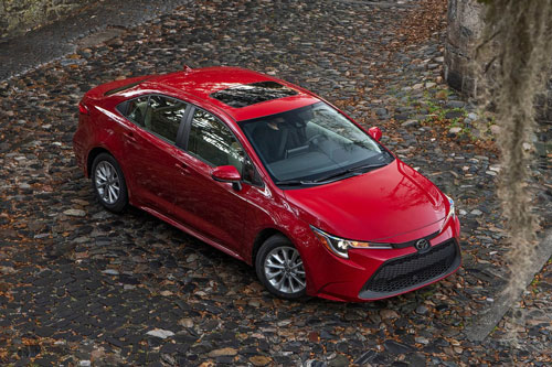 3. Toyota Corolla (doanh số: 10.994 chiếc).