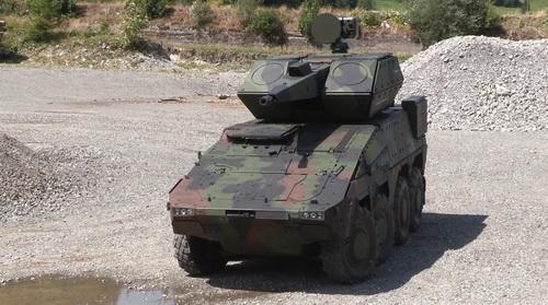 Rheinmetall ra mắt pháo phòng không tự hành thế hệ mới