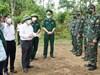 """Chủ tịch Thừa Thiên Huế: Đồn Biên phòng, chốt kiểm soát là """"lá chắn"""" vững chắc ngăn ngừa dịch bệnh xâm nhập"""