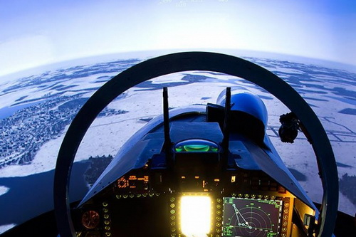 Su-35 và F-22 được báo cáo đã có một cuộc đối đầu nảy lửa. Ảnh: Avia-pro.