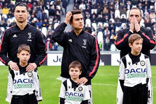 """Juventus """"hy sinh"""" Dybala và Higuain nhằm giữ Ronaldo"""