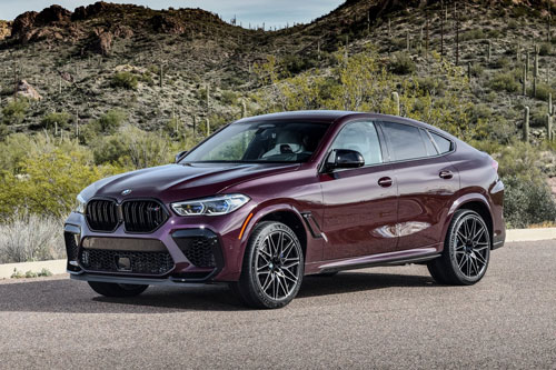3. BMW X6 M Competition 2020.