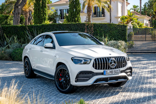 6. Mercedes-AMG GLE 53 4MATIC + Coupe 2020.