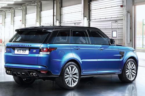 8. Range Rover Sport SVR 2020.