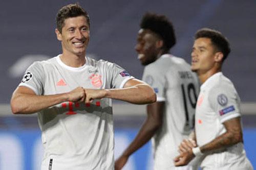 Bayern Munich đang thể hiện sức mạnh đang kinh ngạc.