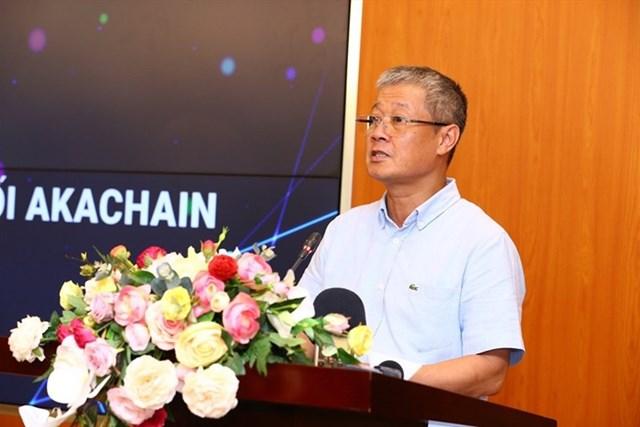 Thứ trưởng Bộ Thông tin và Truyền thông Nguyễn Thành Hưng phát biểu tại sự kiện