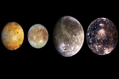 """Các vệ tinh của sao Mộc có thể """"sưởi ấm"""" cho nhau."""