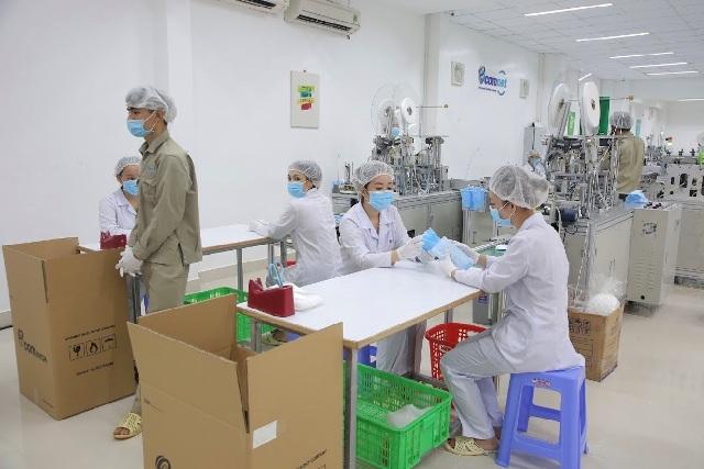 Ecom Net gồm các loại khẩu trang y tế,