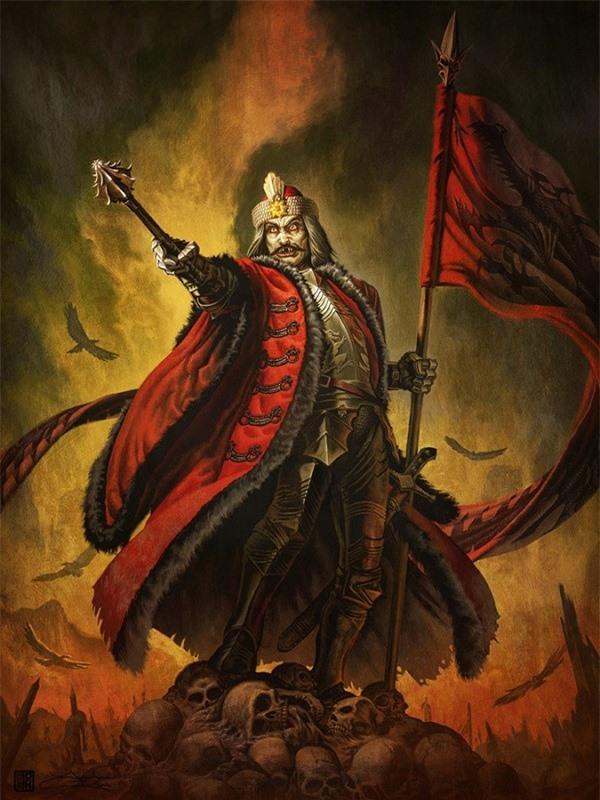 Cuộc đời Bá tước Dracula độc ác có thật trong lịch sử 8
