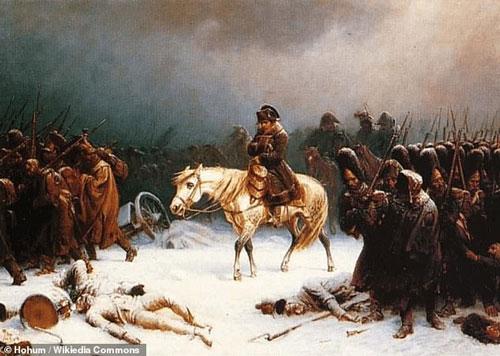 Hoàng đế Pháp Napoleon phải rút quân sau thất bại muối mặt ở Moscow.