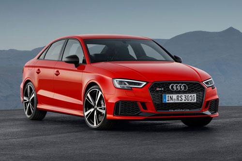 3. Audi RS 3 Sedan 2020 (giá khởi điểm: 56.200 USD, thời gian tăng tốc từ 0-96 km/h: 3,9 giây).
