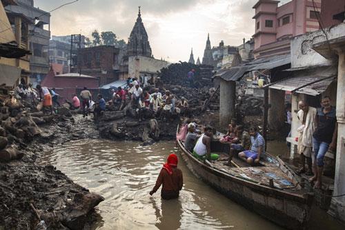 Châu Á sẽ là khu vực chịu ảnh hưởng nặng nề nhất của biến đổi khí hậu. (Ảnh: AP)