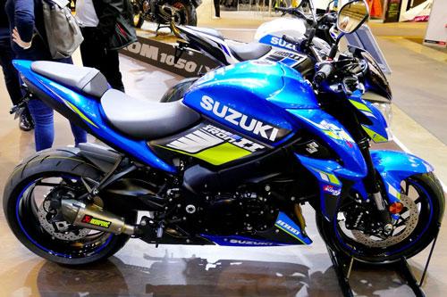 7. Suzuki GSX-S1000 IRON GP 2020 (giá: 15.516 USD).