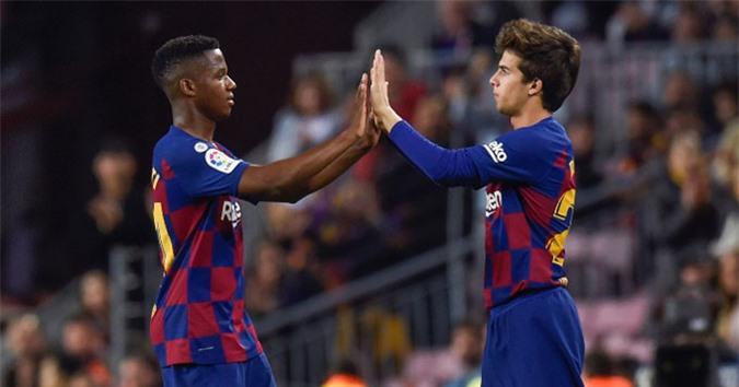 Barca cần trọng dụng các tài năng trẻ
