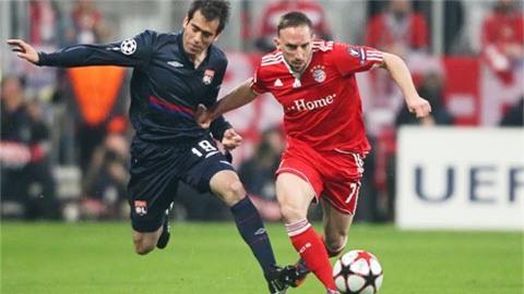 Bayern tái ngộ Lyon sau 10 năm