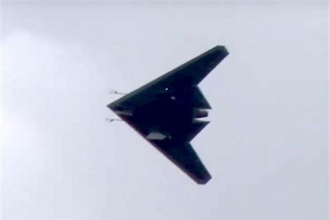 Bi an lon tren UAV tan cong tang hinh Okhotnik cua Nga