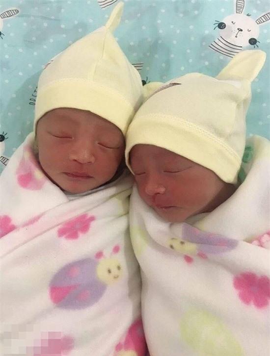 Hai con trai sinh đôi cùng trứng của Đặng Thu Thảo.