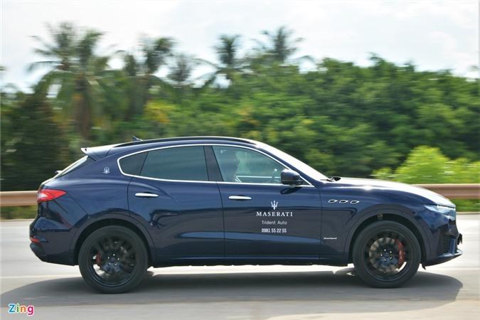 Chi tiet Maserati Levante tai VN, SUV hang sang gia tu 5, 5 ty dong anh 2
