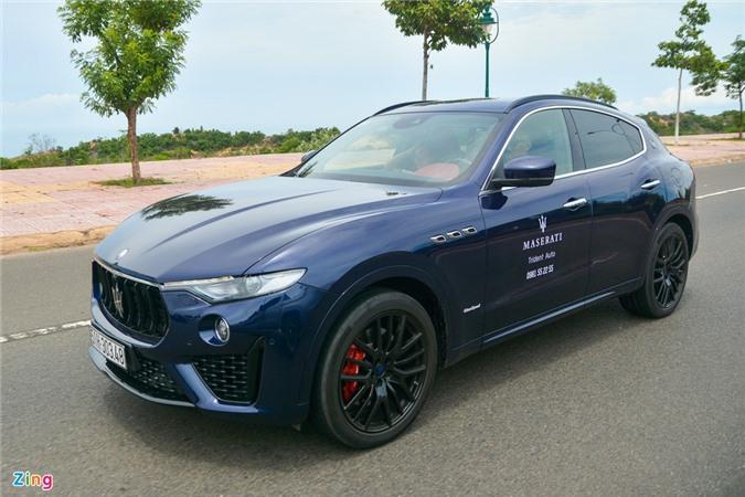Chi tiet Maserati Levante tai VN, SUV hang sang gia tu 5, 5 ty dong anh 3