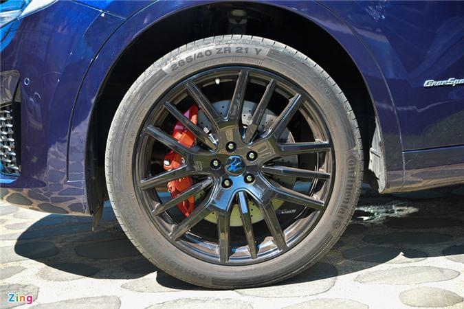 Chi tiet Maserati Levante tai VN, SUV hang sang gia tu 5, 5 ty dong anh 5