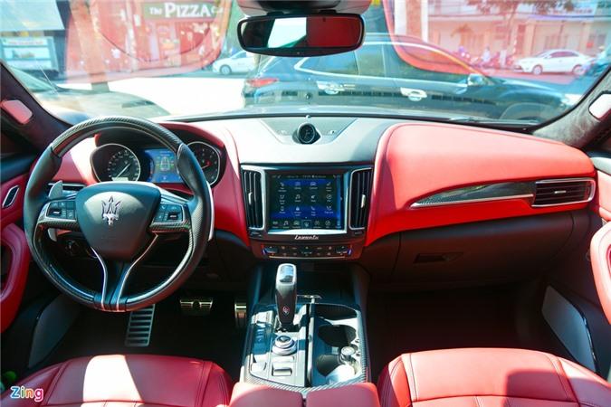 Chi tiet Maserati Levante tai VN, SUV hang sang gia tu 5, 5 ty dong anh 7