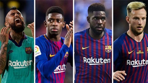Man United đề nghị 'giải cứu' 4 sao khỏi Barca đại loạn