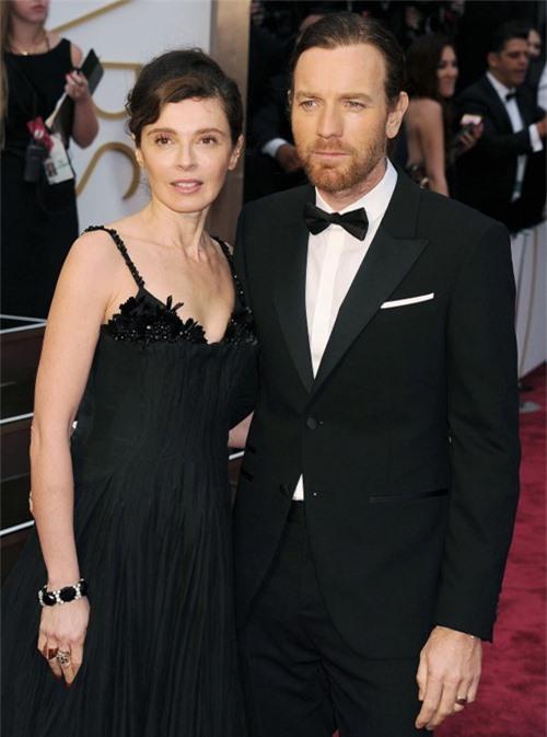 Ewan McGregor và vợ cũ, Eve Mavrakis.