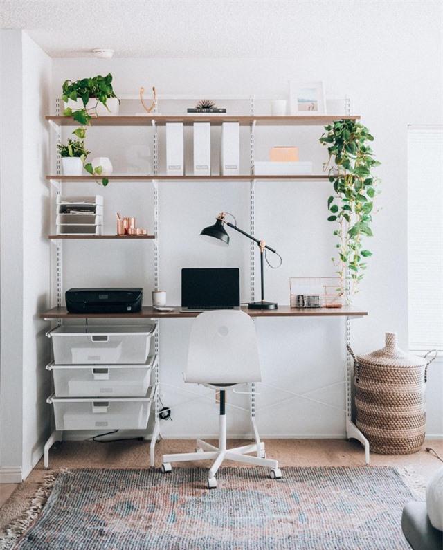 Ý tưởng thiết kế bàn làm việc 'cực chất' khiến bạn luôn tràn đầy cảm hứng - Ảnh 5
