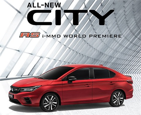 Honda City 2020.