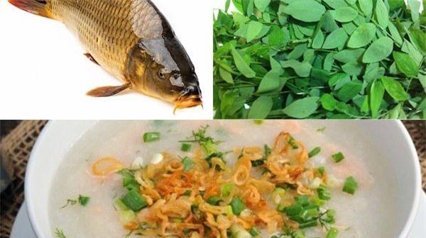 Món cháo cá chép giúp mẹ bầu an thai khỏe mạnh