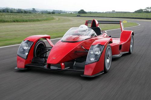 =4. Caparo T1 (thời gian tăng tốc từ 0-96 km/h: 2,5 giây).