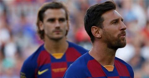 Barca hiến tế Griezmann để mang Neymar về giúp Messi vui trở lại