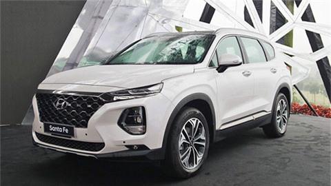 Hyundai Santa Fe thống trị phân khúc SUV 7 chỗ 'đè bẹp' Ford Everest, Mazda CX-8 trong tháng 7/2020