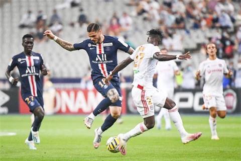 Icardi chơi bế tắc và tịt ngòi cả 3 trận gần đây trong màu áo PSG