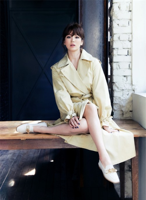 Song Hye Kyo ăn gian tuổi - 8