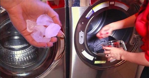 Thả 3 viên đá vào máy giặt, đồ lấy ra tự phẳng, mặc trăm lần cũng không bạc màu - 1
