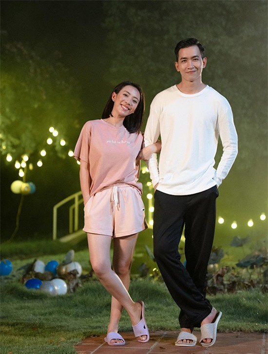 Nam diễn viên 9X lần đầu có dịp diễn xuất cùng hoa hậu hài Thu Trang.