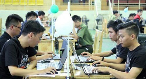 """Các đội dự thi """"Sinh viên với an toàn thông tin ASEAN 2019"""". (Ảnh minh họa: Báo Quảng Nam)"""
