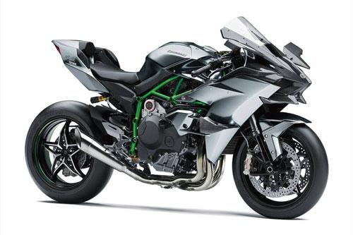 1. Kawasaki Ninja H2R 2020 (vận tốc tối đa: 399 km/h).