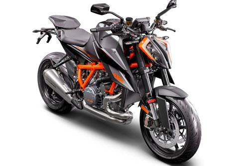 =7. KTM 1290 Super Duke R 2020 (vận tốc tối đa: 299 km/h).