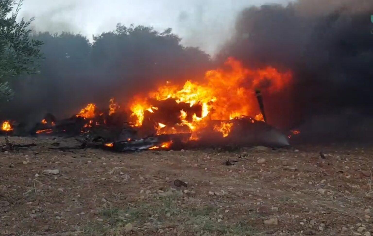 Phiến quân Syria đã bắn nhầm máy bay không người lái MQ-9 Reaper của Mỹ vì nhầm nó là chiếc Orlan-10 của Nga. Ảnh: Defence Blog.
