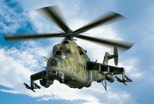 Không quân Cameroon sẽ nhận được các trực thăng Mi-24 nâng cấp với vũ khí mới. Ảnh: Defence Blog.