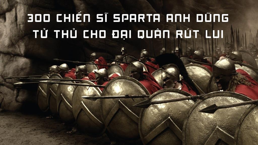 300 chiến sĩ Sparta đã trở thành những anh hùng của người Hy Lạp. Ảnh: Hiền Đức.