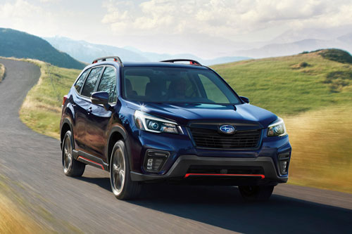 Subaru Forester 2021.
