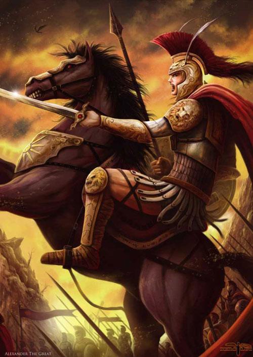 Alexander Đại đế là nhà thiên tài quân sự, nổi tiếng thế giới.